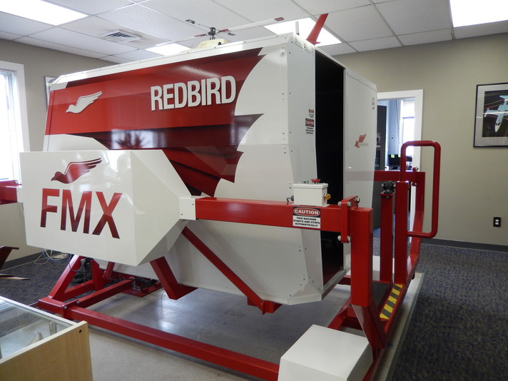 Our RedBird FMX Simulator