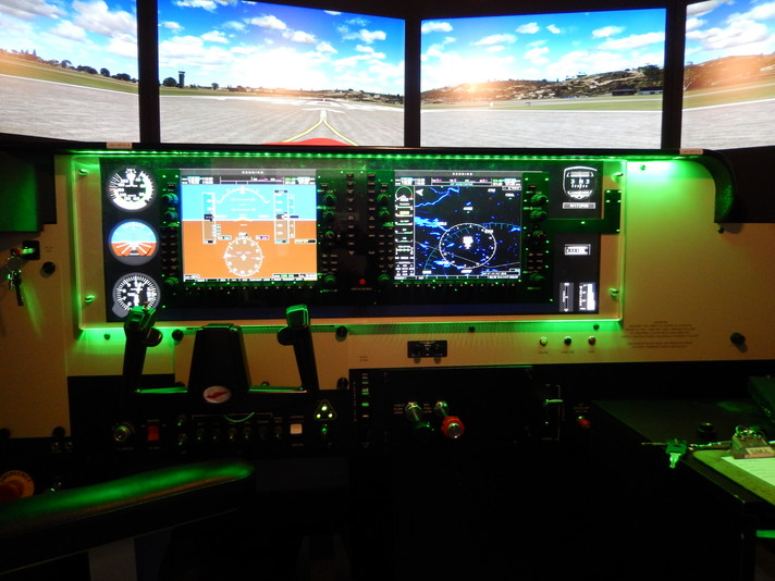 Cessna 172 with G1000 avionics